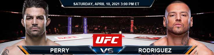 UFC on ABC 2 Perry vs Rodriguez 04-10-2021 Forecast Tips and Results