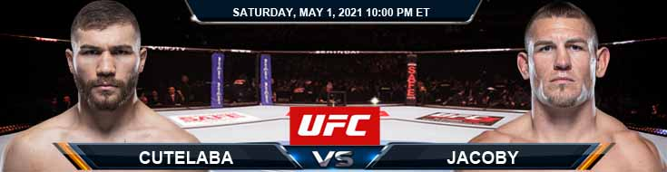 UFC on ESPN 23 Cutelaba vs Jacoby 05-01-2021 Fight Analysis Forecast and Tips