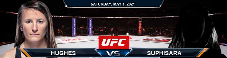 UFC on ESPN 23 Hughes vs Suphisara 05-01-2021 Previews Spread and Fight Analysis