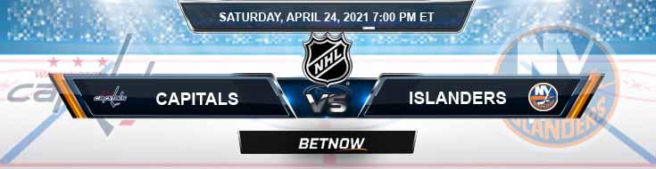 Washington Capitals vs New York Islanders 04-24-2021 Previews Hockey Betting & Predictions