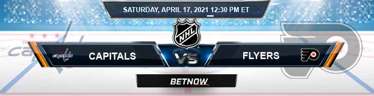Washington Capitals vs Philadelphia Flyers 04-17-2021 NHL Predictions Picks & Game Analysis