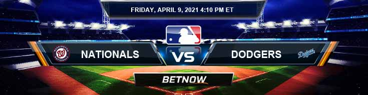 Washington Nationals vs Los Angeles Dodgers 04-09-2021 Baseball Betting Tips and MLB Forecast