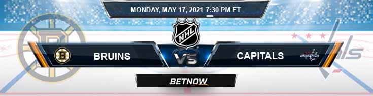 Boston Bruins vs Washington Capitals 05/17/2021 NHL Predictions, Picks & Odds