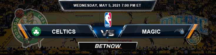 Boston Celtics vs Orlando Magic 5-5-2021 Spread Picks and Previews
