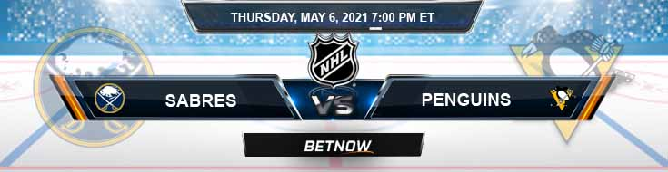 Buffalo Sabres vs Pittsburgh Penguins 05-06-2021 NHL Results Picks & Previews
