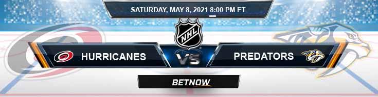 Carolina Hurricanes vs Nashville Predators 05-08-2021 NHL Predictions Picks & Previews