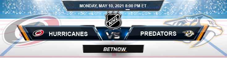 Carolina Hurricanes vs Nashville Predators 05-10-2021 NHL Previews Spread & Game Analysis