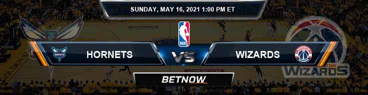Charlotte Hornets vs Washington Wizards 5-16-2021 NBA Spread and Picks