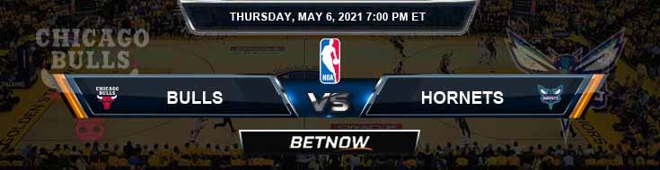 Chicago Bulls vs Charlotte Hornets 5-6-2021 Spread Picks and Previews