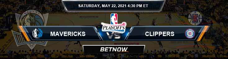 Dallas Mavericks vs Los Angeles Clippers 5-22-2021 NBA Spread and Picks