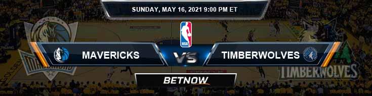 Dallas Mavericks vs Minnesota Timberwolves 5-16-2021 NBA Odds and Picks