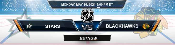 Dallas Stars vs Chicago Blackhawks 05-10-2021 NHL Results Picks & Previews
