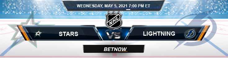 Dallas Stars vs Tampa Bay Lightning 05-05-2021 Previews NHL Spread & Game Analysis