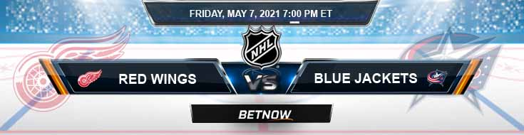 Detroit Red Wings vs Columbus Blue Jackets 05-07-2021 Results NHL Picks & Previews