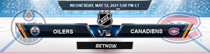 Edmonton Oilers vs Montreal Canadiens 05-12-2021 NHL Game Analysis Spread & Odds