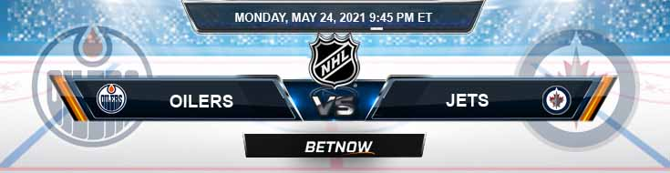 Edmonton Oilers vs Winnipeg Jets 05-24-2021 NHL Game Analysis Picks & Spread