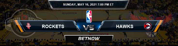 Houston Rockets vs Atlanta Hawks 5-16-2021 Spread Picks and Prediction