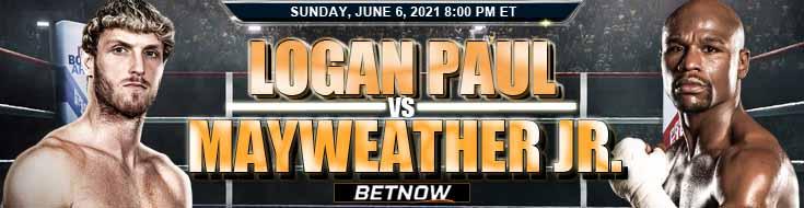 Logan Paul vs Floyd Mayweather Jr. 06-06-2021 Picks Predictions and Previews