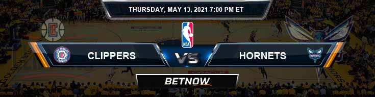 Los Angeles Clippers vs Charlotte Hornets 5-13-2021 NBA Odds and Picks