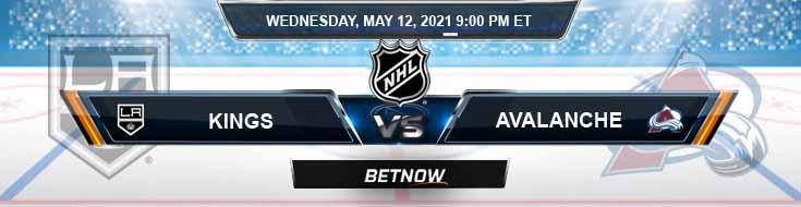 Los Angeles Kings vs Colorado Avalanche 05-12-2021 NHL Game Analysis Odds & Spread