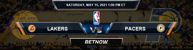 Los Angeles Lakers vs Indiana Pacers 5-15-2021 NBA Picks and Previews