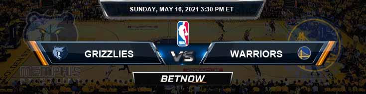 Memphis Grizzlies vs Golden State Warriors 5-16-2021 NBA Odds and Picks