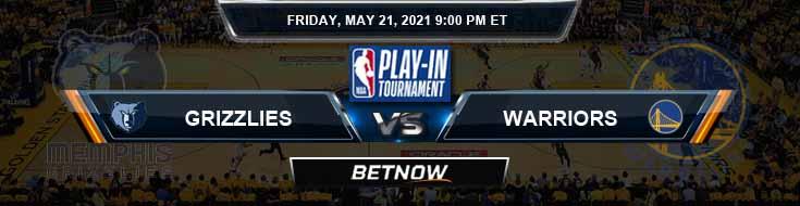 Memphis Grizzlies vs Golden State Warriors 5-21-2021 NBA Odds and Picks