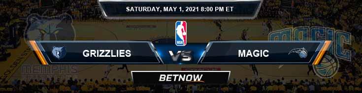 Memphis Grizzlies vs Orlando Magic 5-1-2021 NBA Picks and Previews