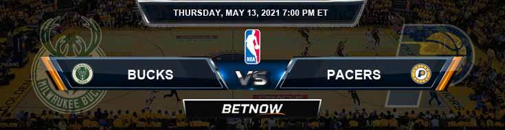 Milwaukee Bucks vs Indiana Pacers 5-13-2021 NBA Picks and Previews