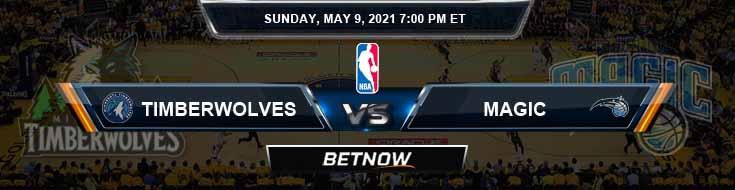 Minnesota Timberwolves vs Orlando Magic 5-9-2021 NBA Spread and Picks