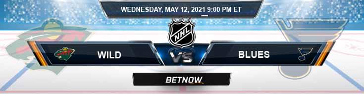 Minnesota Wild vs St. Louis Blues 05-12-2021 NHL Predictions Picks & Game Analysis
