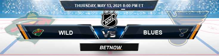 Minnesota Wild vs St. Louis Blues 05-13-2021 NHL Previews Spread & Game Analysis