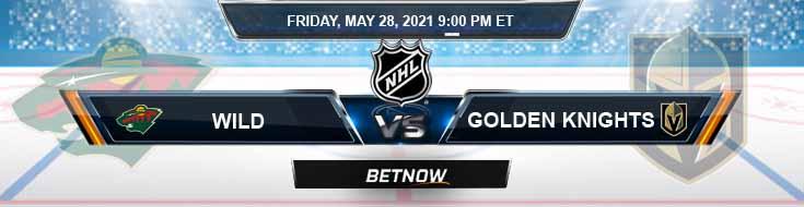 Minnesota Wild vs Vegas Golden Knights 05-28-2021 NHL Tips Odds & Results