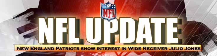 NFL Update New England Patriots Show Interest in Wide Receiver Julio Jones