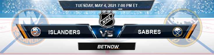 New York Islanders vs Buffalo Sabres 05-04-2021 NHL Predictions Picks & Game Analysis
