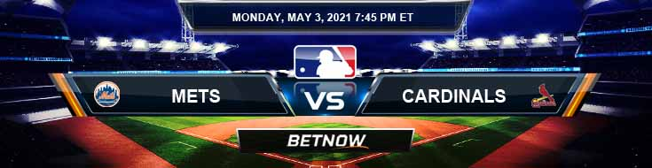 New York Mets vs St. Louis Cardinals 05-03-2021 Odds Picks and Predictions