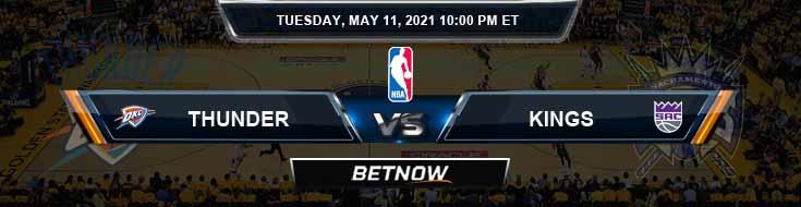 Oklahoma City Thunder vs Sacramento Kings 5-11-2021 NBA Odds and Picks