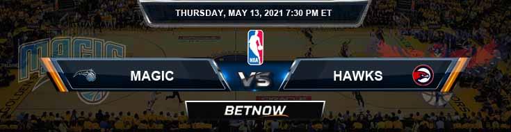 Orlando Magic vs Atlanta Hawks 5-13-2021 Odds Picks and Prediction