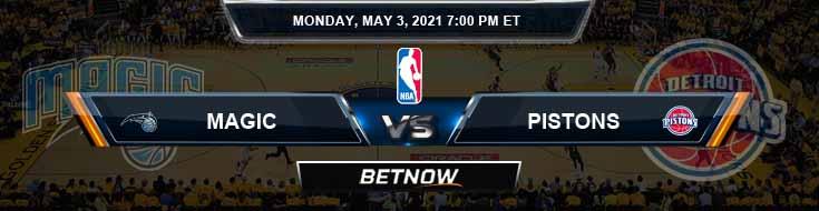 Orlando Magic vs Detroit Pistons 5-3-2021 Spread Picks and Prediction