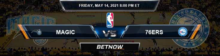 Orlando Magic vs Philadelphia 76ers 5-14-2021 Odds Spread and Picks