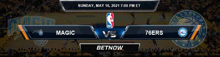 Orlando Magic vs Philadelphia 76ers 5-16-2021 Odds Picks and Prediction