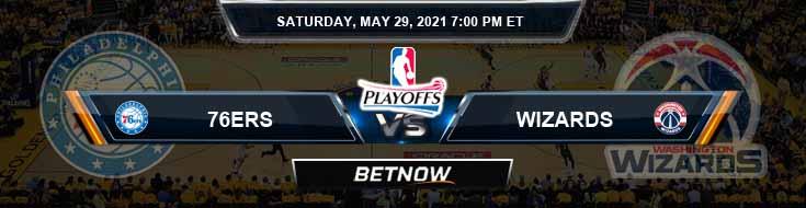Philadelphia 76ers vs Washington Wizards 5-29-2021 NBA Odds and Picks