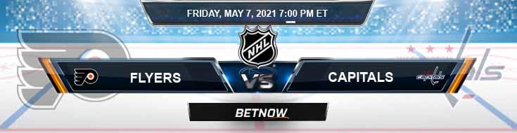 Philadelphia Flyers vs Washington Capitals 05-07-2021 NHL Previews Spread & Predictions