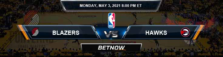 Portland Trail Blazers vs Atlanta Hawks 5-3-2021 NBA Spread and Picks