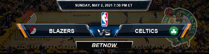 Portland Trail Blazers vs Boston Celtics 5-2-2021 NBA Spread and Picks