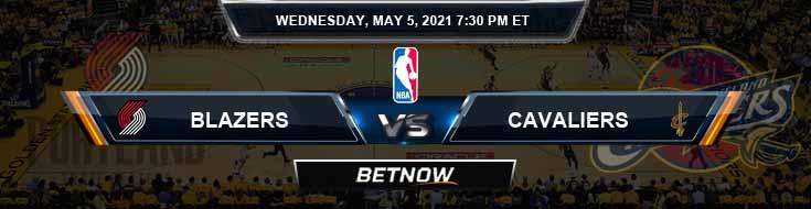 Portland Trail Blazers vs Cleveland Cavaliers 5-5-2021 NBA Odds Picks