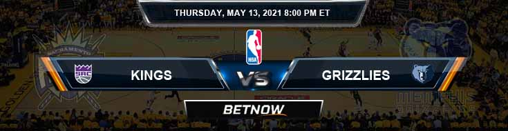 Sacramento Kings vs Memphis Grizzlies 5-13-2021 NBA Odds and Picks