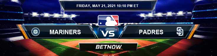 Seattle Mariners vs San Diego Padres 05-21-2021 Results Odds and Picks