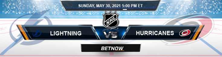 Tampa Bay Lightning vs Carolina Hurricanes 05-30-2021 NHL Picks Odds & Game Analysis