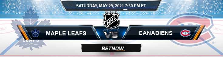 Toronto Maple Leafs vs Montreal Canadiens 05-29-2021 Betting Odds Picks and Hockey Predictions